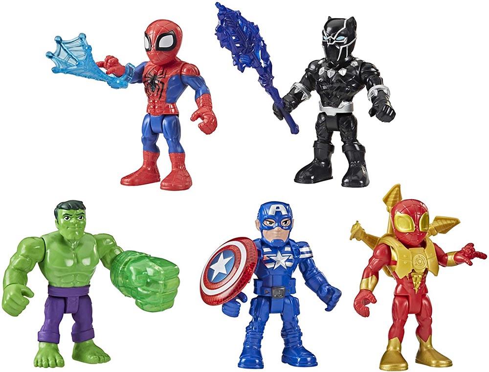 Đồ chơi mô hình Playskool Heroes Marvel Super Hero 12cm
