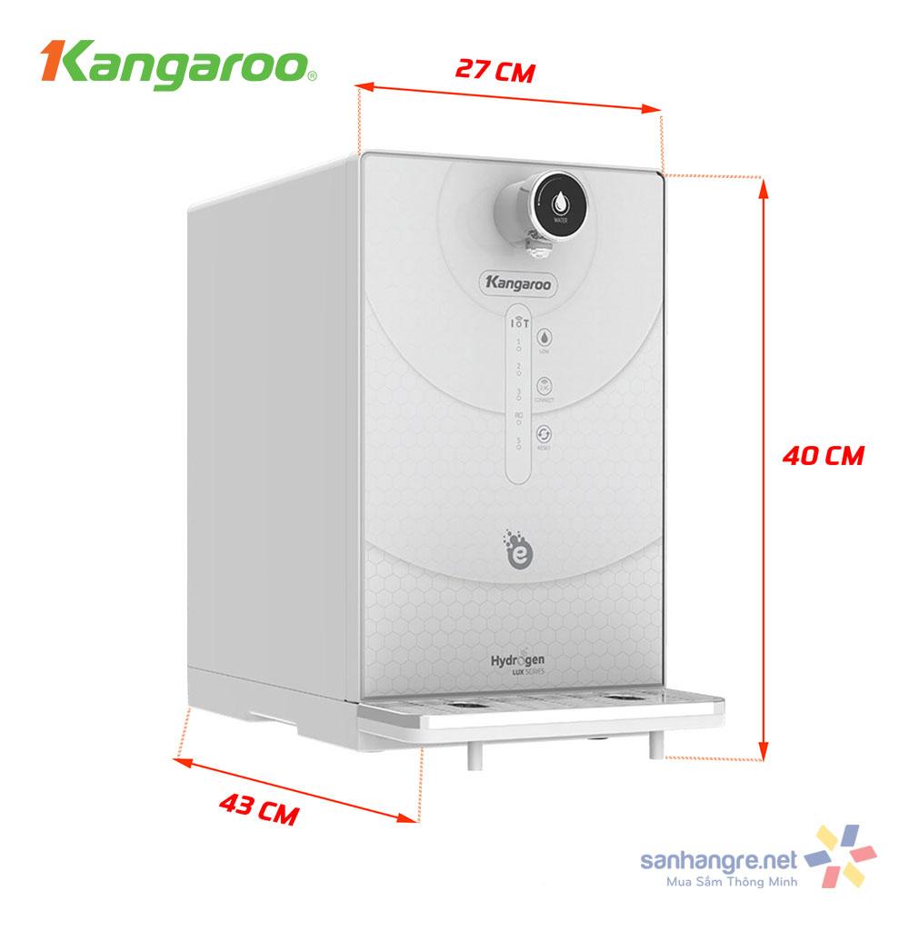 Máy lọc nước Kangaroo Hydrogen ion kiềm KG100EED-IoT
