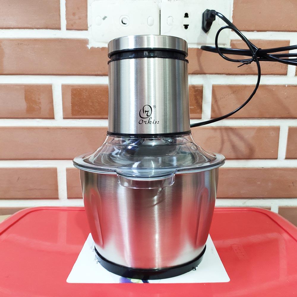 Máy xay thịt cối Inox Orkin Thái Lan OR518 công suất 400W