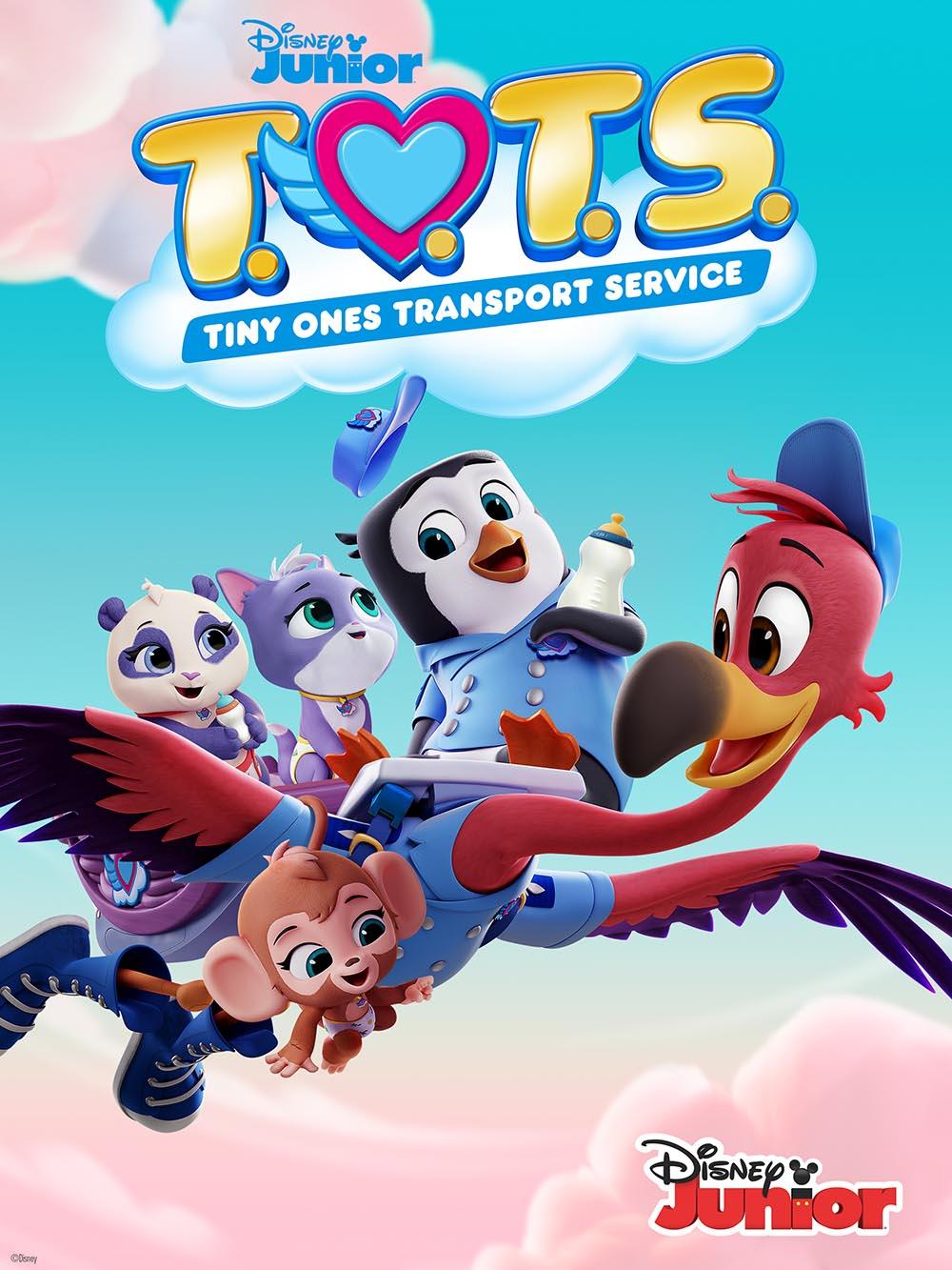Bộ đồ chơi mô hình Phim hoạt hình Disney Junior T.O.T.S