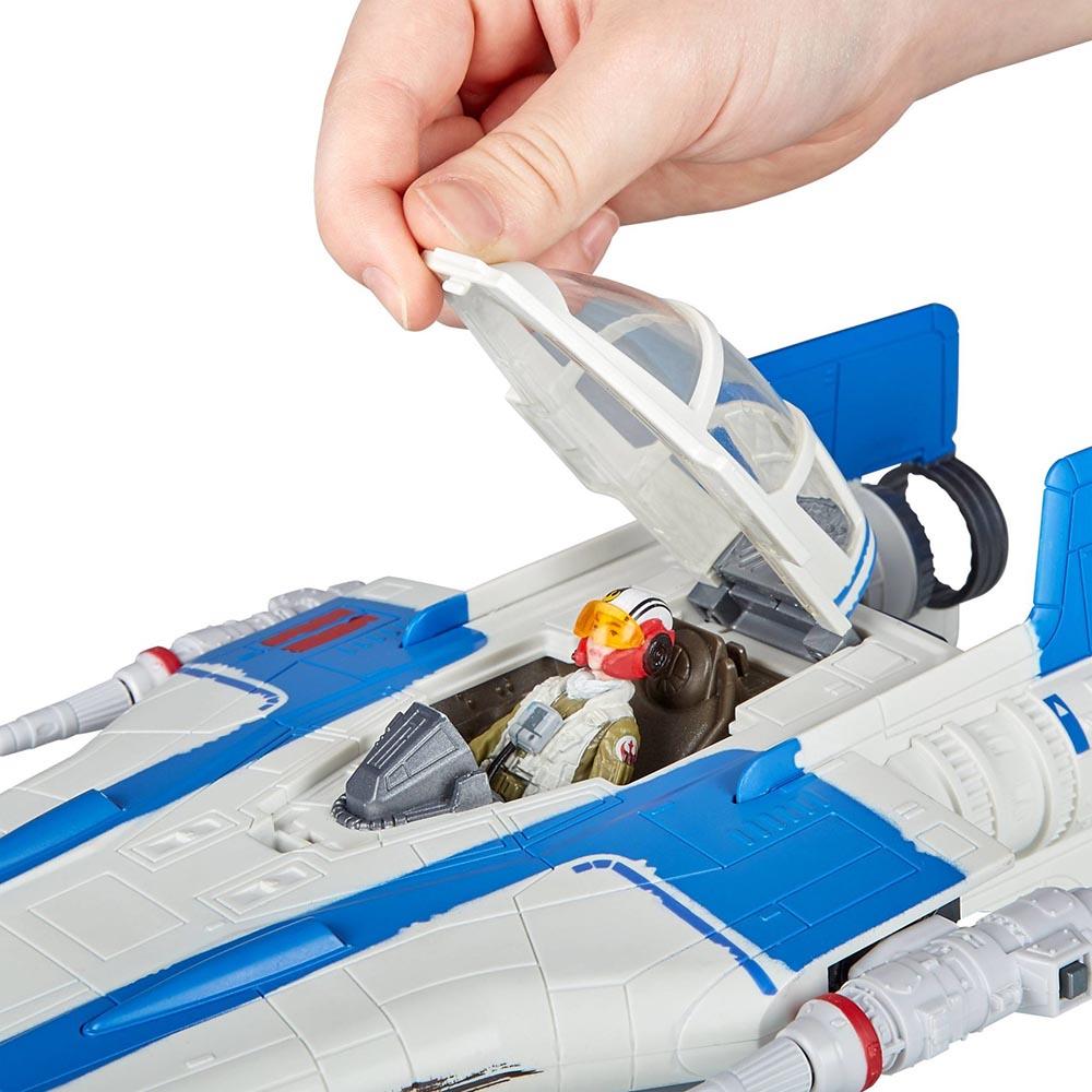 Đồ chơi mô hình Star War Force Link 2.0 - A-Wing Fighter và Resistance Pilot Tallie