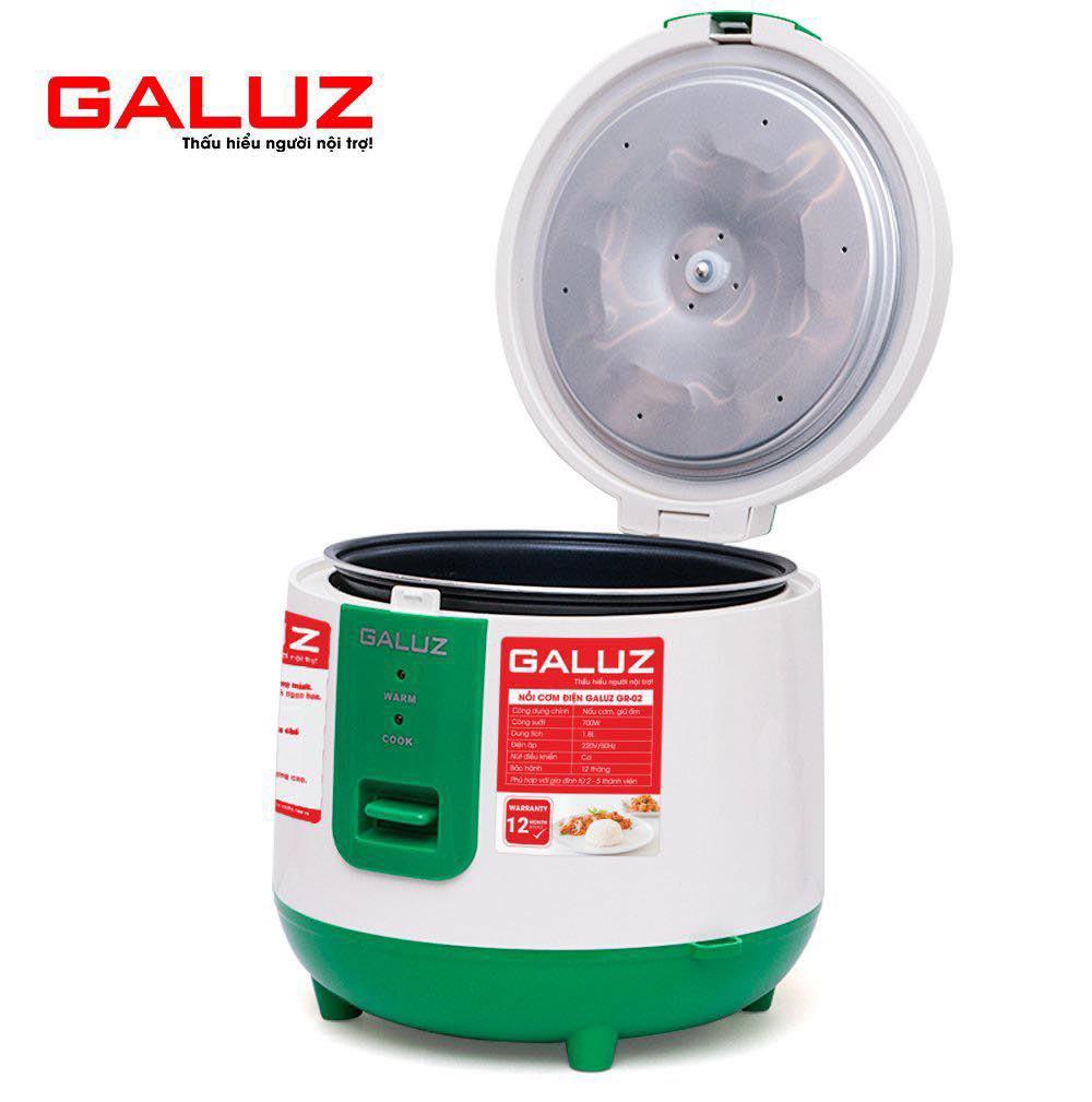 Nồi cơm điện cơ Galuz GR-02 dung tích 1.8 lít