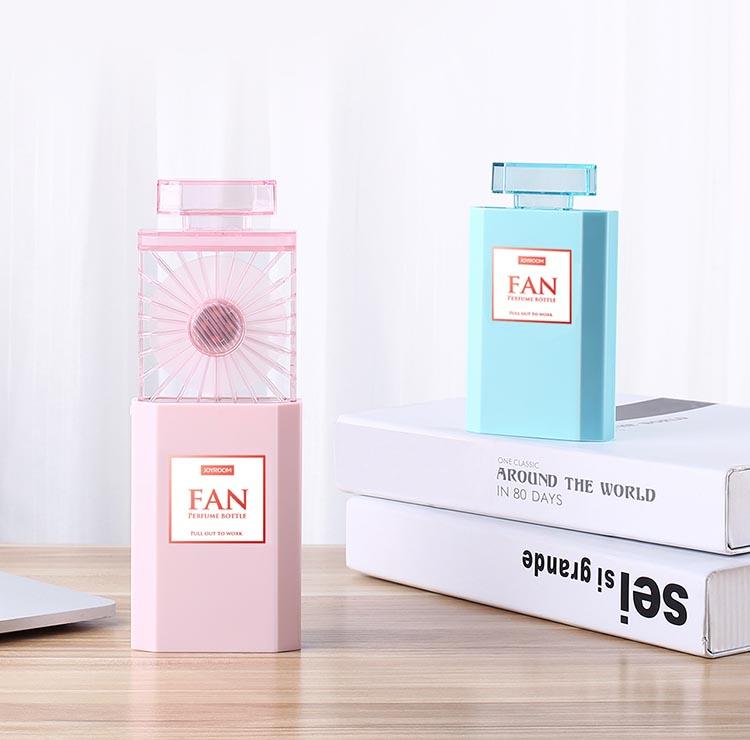 Quạt mini cầm tay Joyroom QUATCY277 kiểu dáng lọ nước hoa
