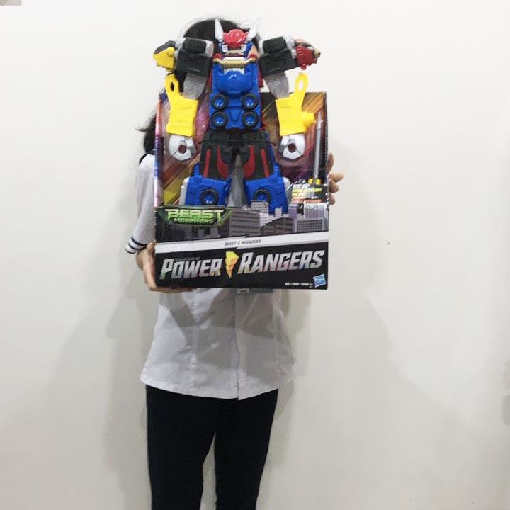 Đồ chơi mô hình Robot không lồ Power Rangers Beast Morphers Megazord