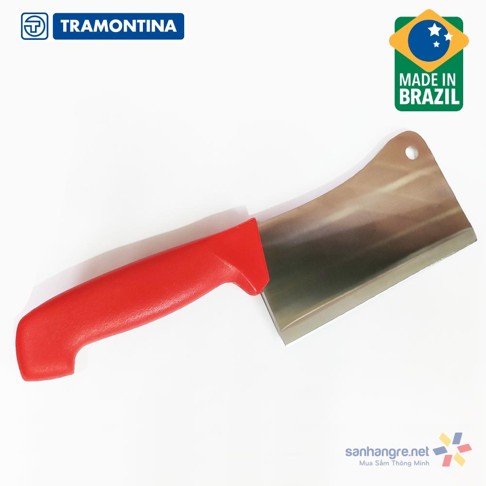 Dao chặt xương cán nhựa kháng khuẩn Tramontina Profissional Master 15cm 24624/176