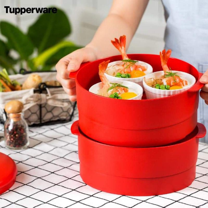 Xửng hấp Tupperware Steam It 2 tầng