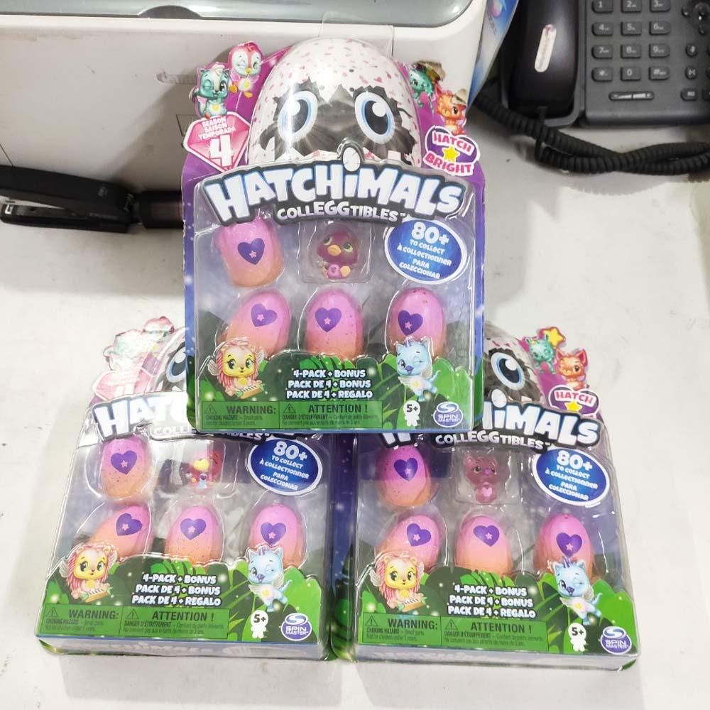 Đồ chơi trứng Hatchimals CollEGGtibles Season 4 - Vỉ 4 quả mini và 1 nhân vật