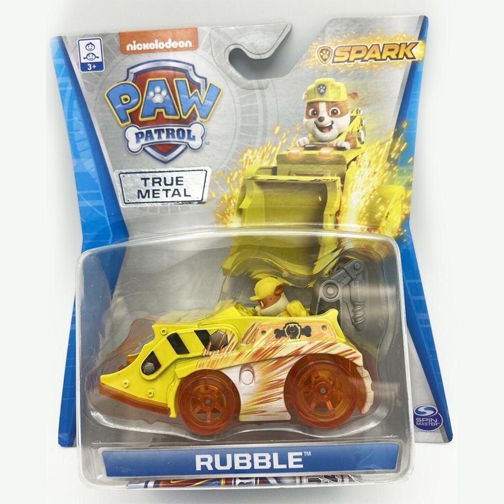 Đồ chơi Xe mô hình chó cứu hộ Paw Patrol True Metal Rubble