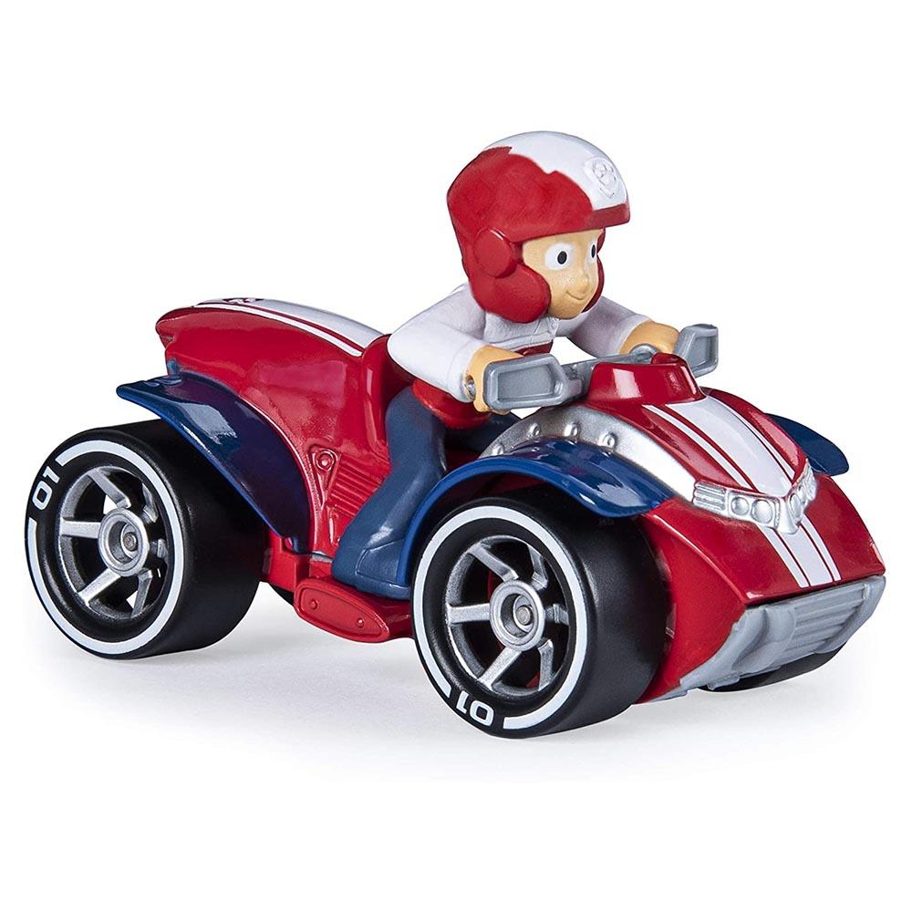 Đồ chơi mô hình Đội trưởng Ryder lái xe cứu hộ Paw Patrol True Metal