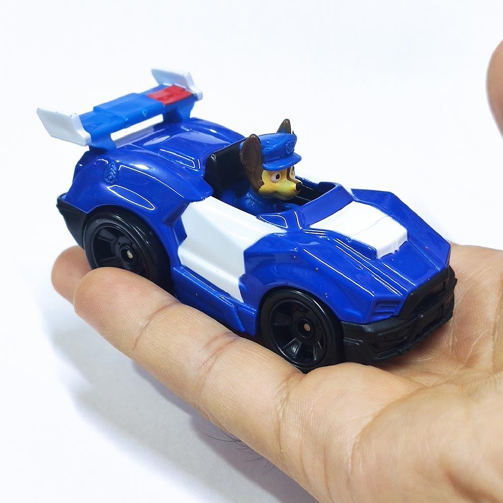 Mô hình Xe chó cứu hộ Paw Patrol True Metal tỷ lệ 1:55 - Chase đội trưởng (no box)