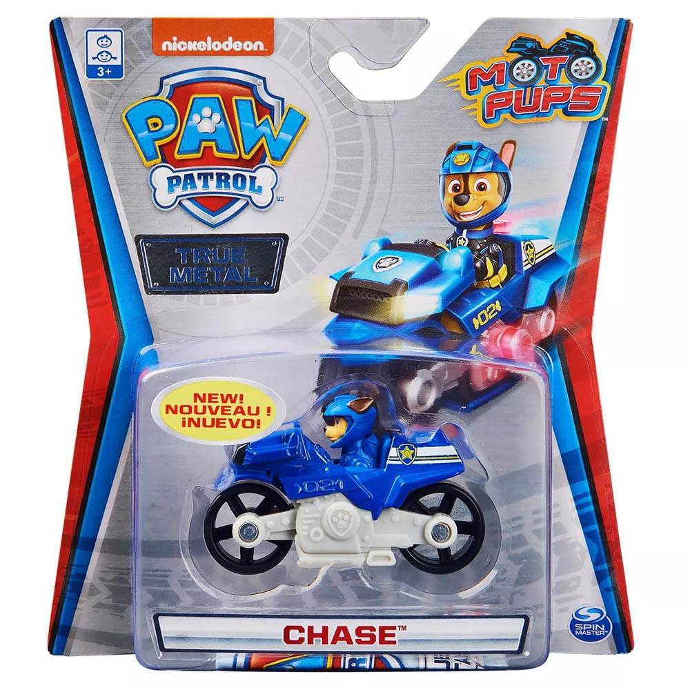 Xe mô tô cứu hộ Paw Patrol True Metal tỷ lệ 1:55 - Chase Moto Pups