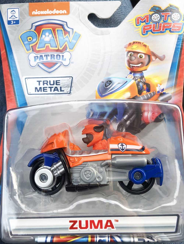 Xe mô tô cứu hộ Paw Patrol True Metal tỷ lệ 1:55 - Zuma Moto Pups