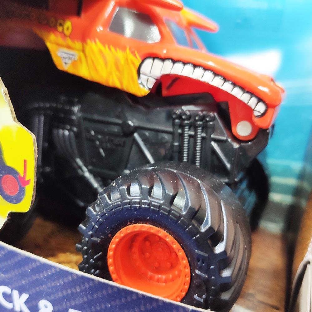 Đồ chơi Xe đua địa hình Monster Jam Click&Flip El Toro Loco