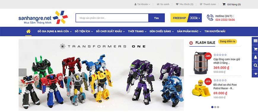 Shop Săn Hàng Rẻ trên Báo điện tử 24h.com.vn