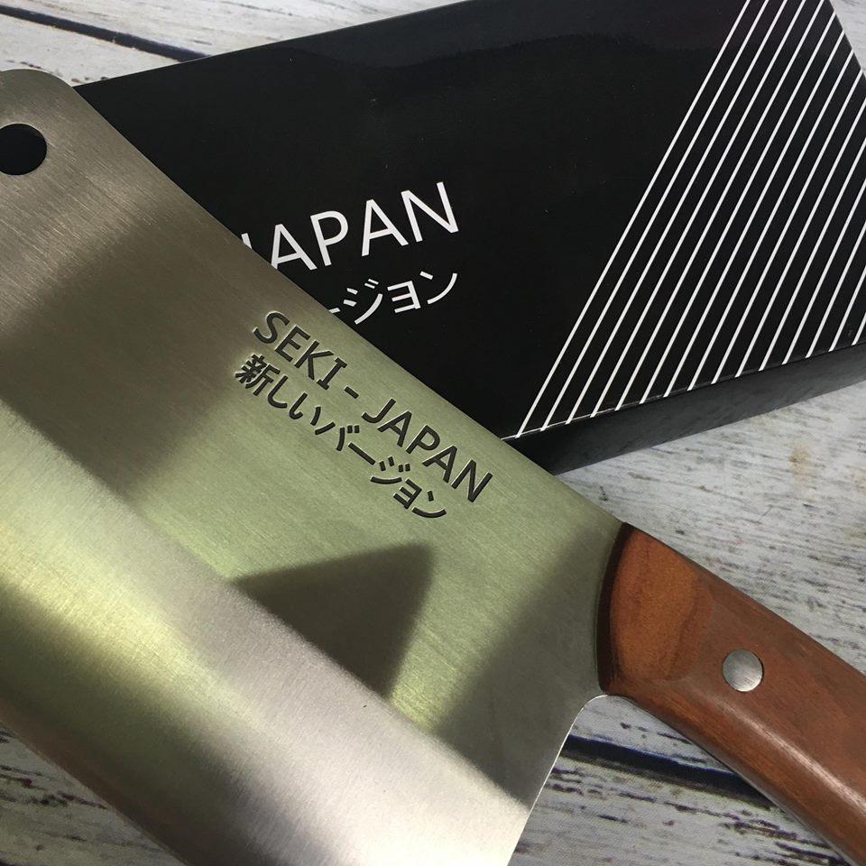 Dao Chặt Thép Nguyên Khối Seki Japan Hàng Nhật