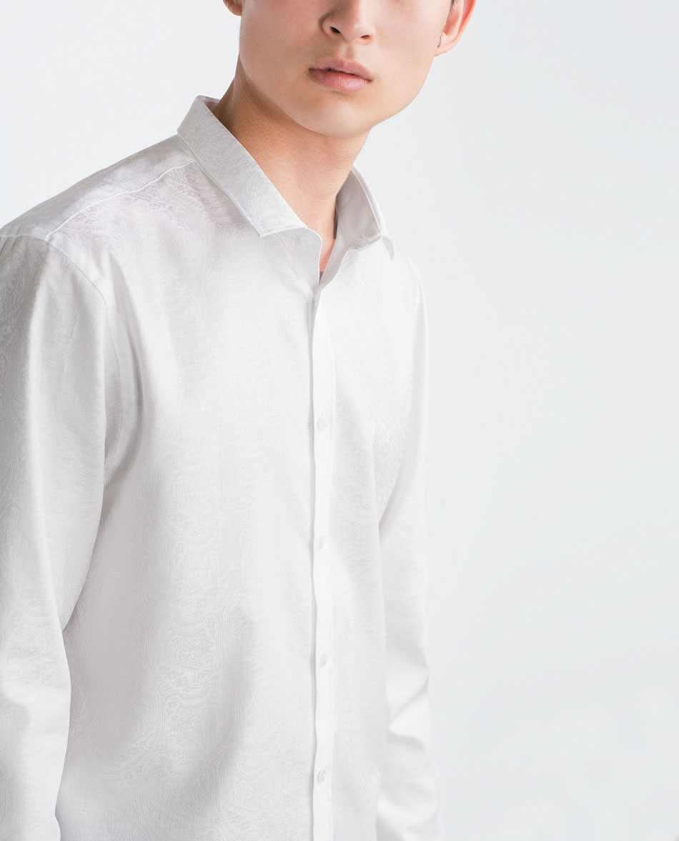 Áo sơ mi nam dài tay SuperSlim Fit Zara Man hàng xuất