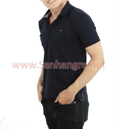 Áo thun Tommy Nam hàng Việt Nam xuất khẩu màu tím đen