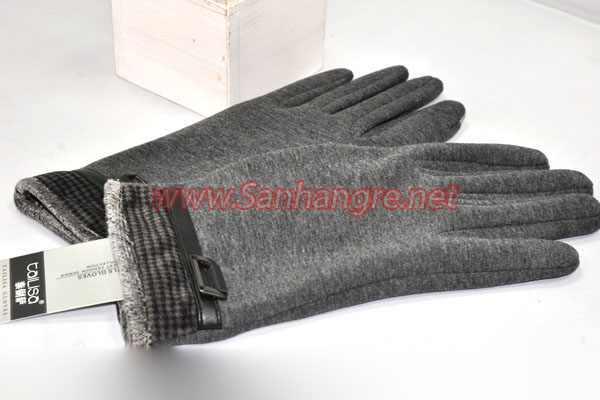Găng tay cảm ứng lót lông cho nam