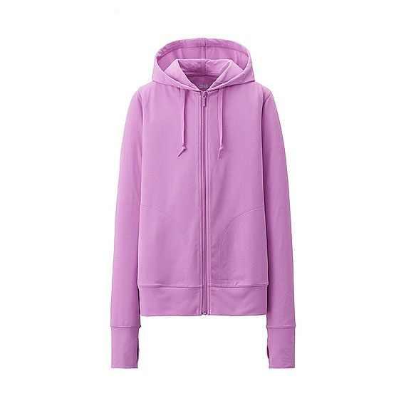 Áo chống nắng Uniqlo màu tím