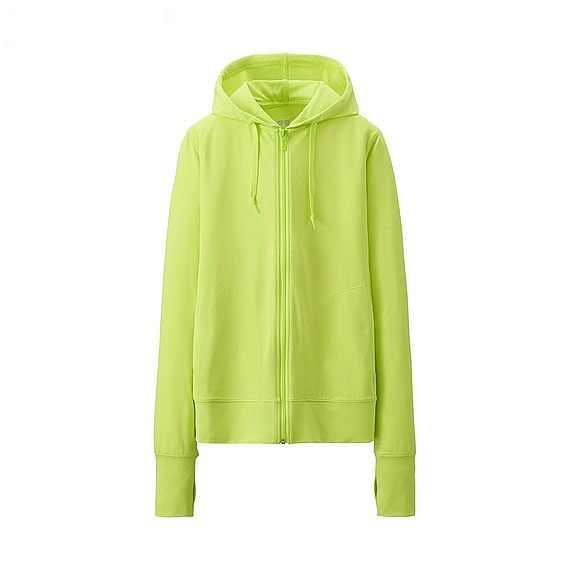 Áo chống nắng Uniqlo màu xanh lá