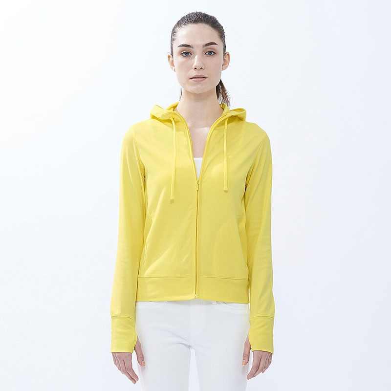 Áo chống nắng Uniqlo màu vàng