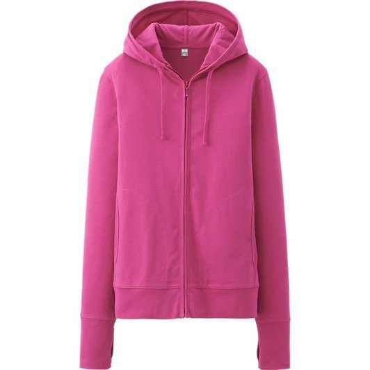 Áo chống nắng Uniqlo màu tím hồng
