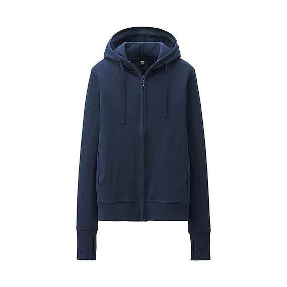 Áo chống nắng Uniqlo màu xanh than