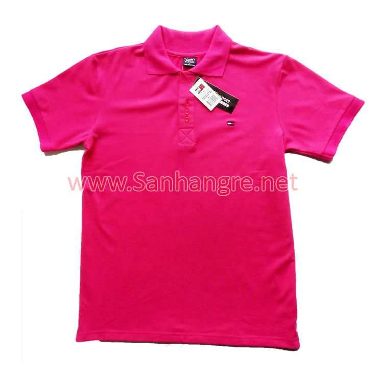 Áo thun Tommy Nữ hàng Việt Nam xuất khẩu màu tím than