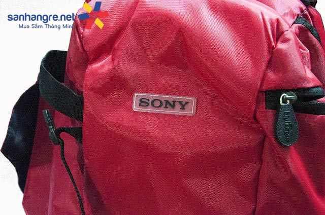 Balo laptop, máy ảnh DSL Sony