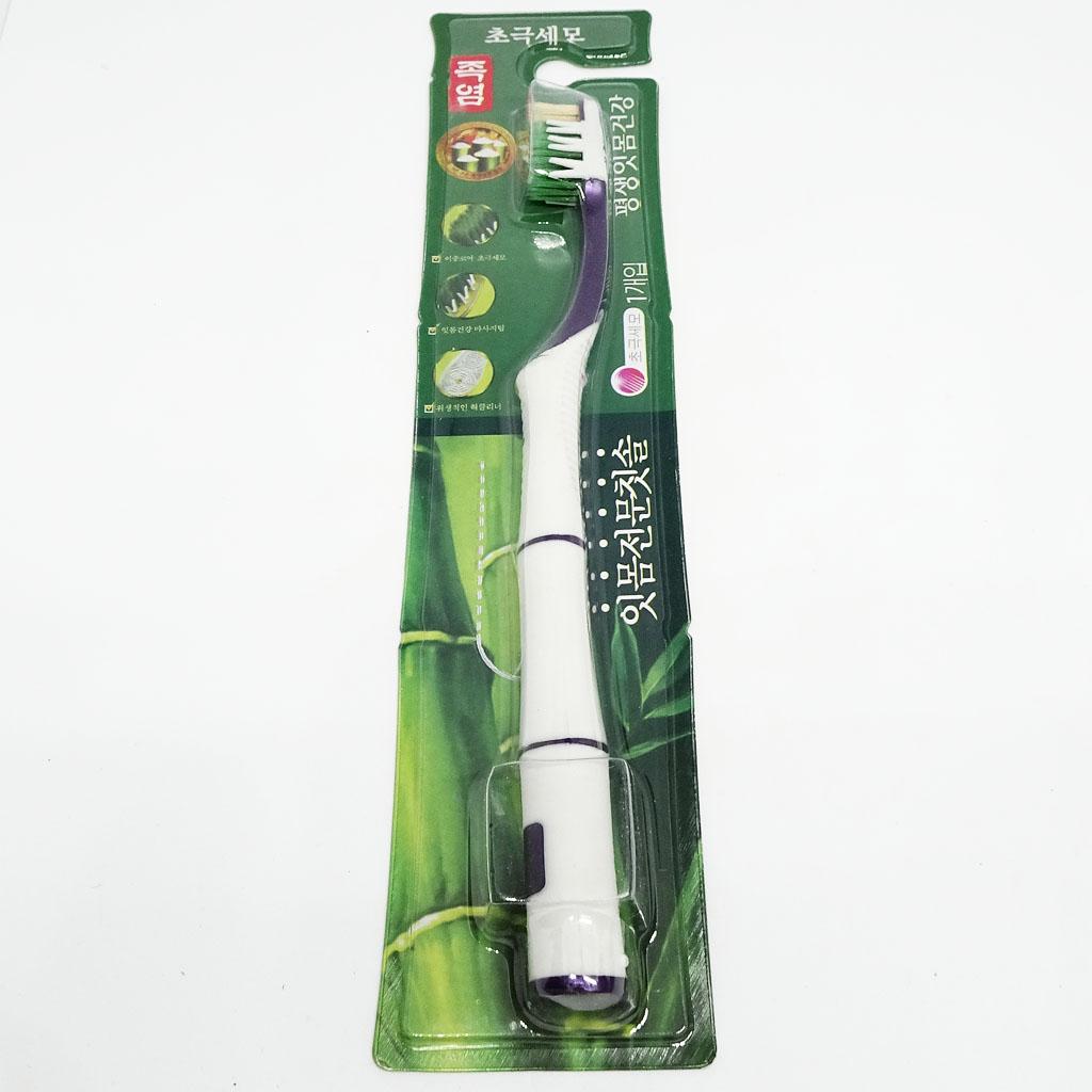 Bàn chải đánh răng muối tre Bamboo Salt chăm sóc răng e buốt Hàn Quốc