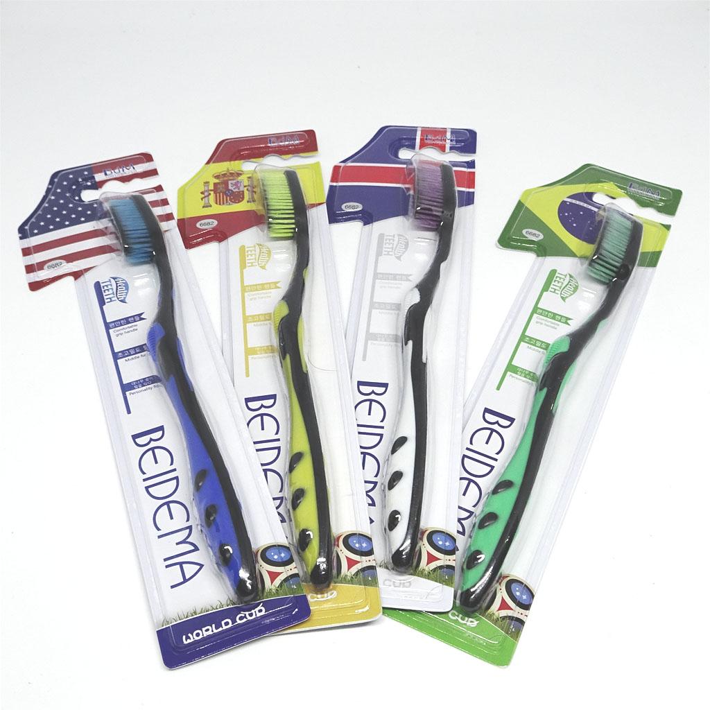 Bàn chải đánh răng Nano cao cấp BEIDEMA Hàn Quốc 6682 cờ Bắc Iceland