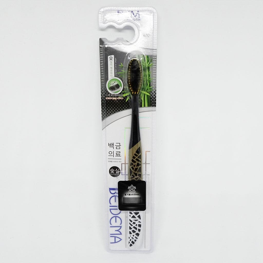 Bàn chải đánh răng công nghệ Carbon Wire Clean BEIDEMA Hàn Quốc 670