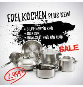 Bộ nồi Edelkochen Plus New