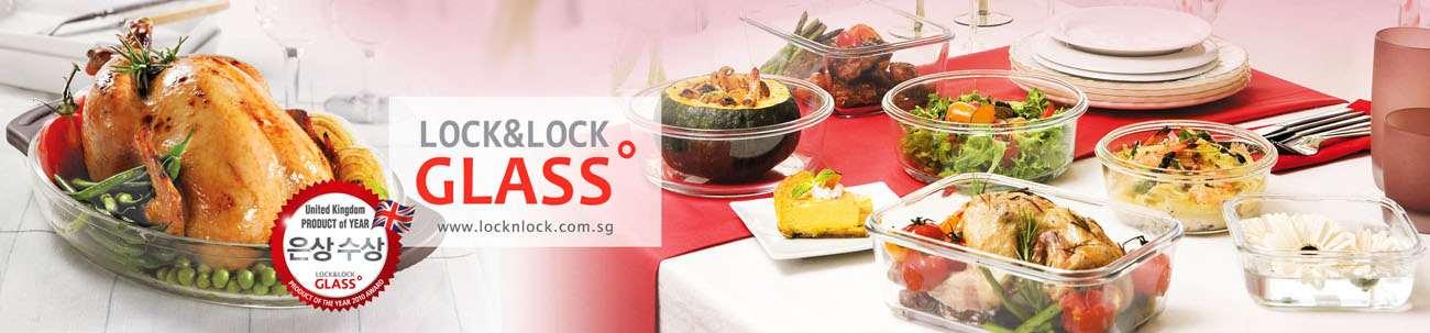 Giảm tới 50% Lock&lock, Glasslock