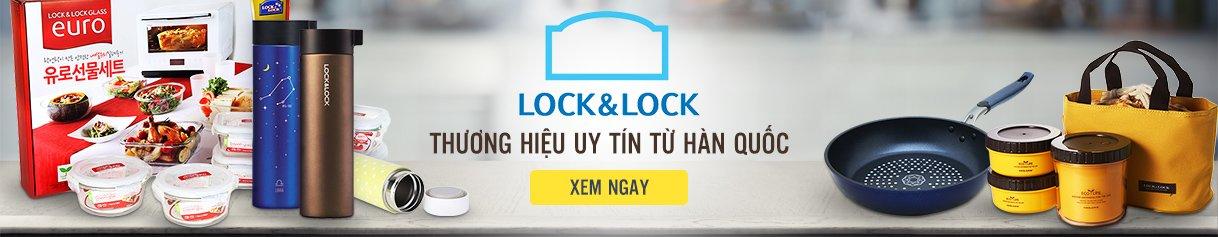 Nồi và chảo dùng bếp từ Lock&lock - Thương hiệu đến từ Hàn Quốc