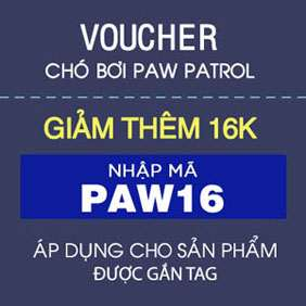 Giảm thêm 16k chó bơi Paw Patrol