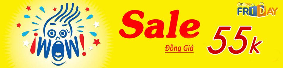 Đồng giá 55k ngày Online Friday 2017