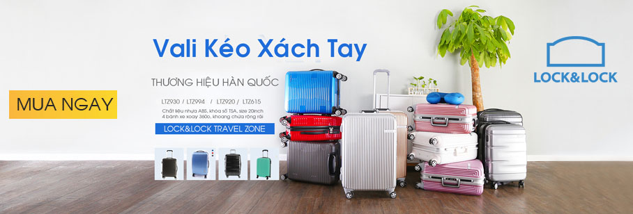 Vali Du Lịch Travel Zone 20 Inch Lock&Lock