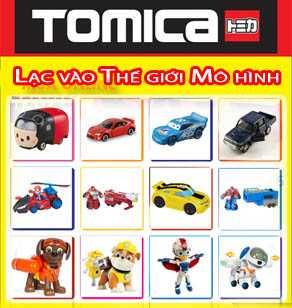 Thế giới đồ chơi xe mô hình Tomica