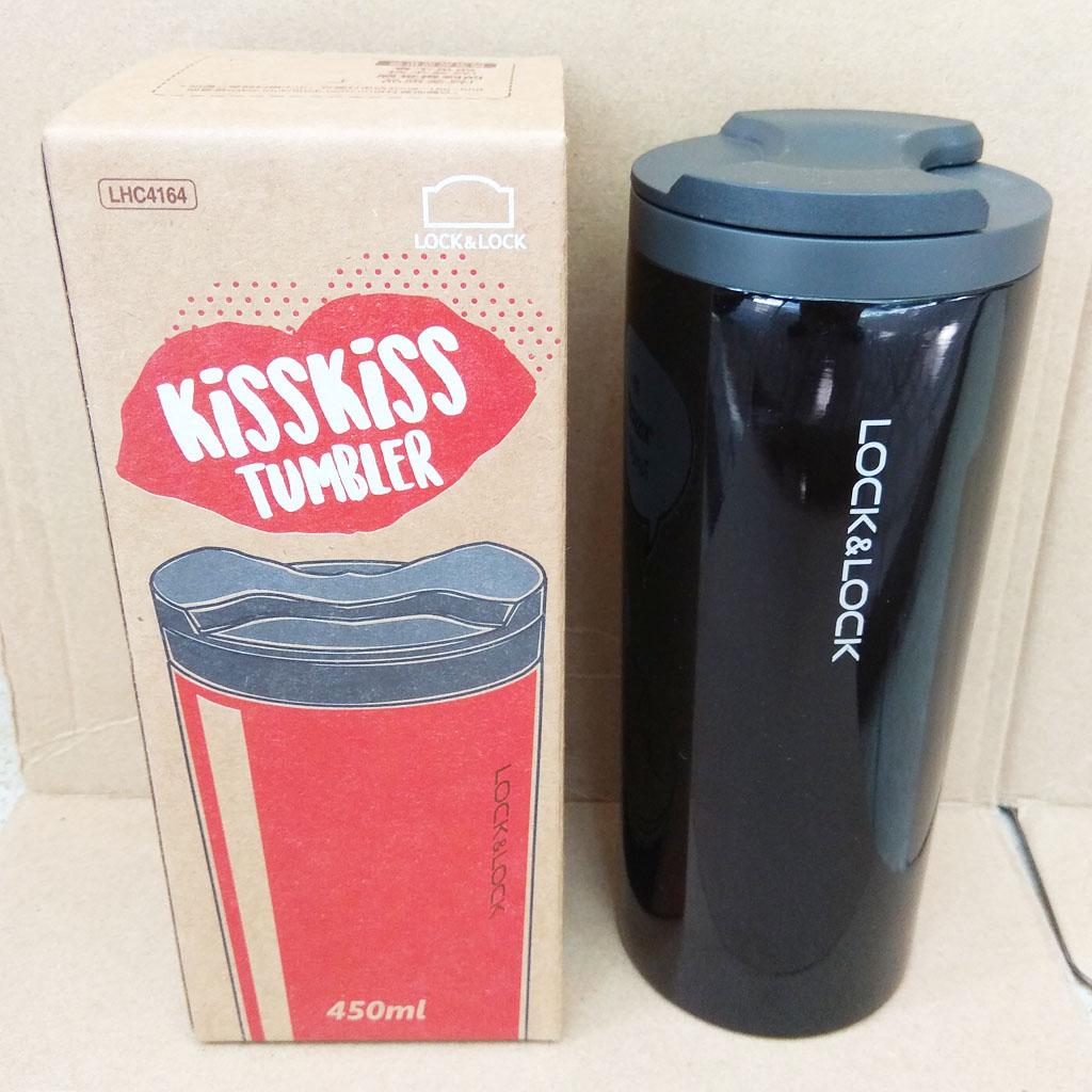 Bình Giữ Nhiệt Lock&Lock Hot&Cool KissKiss Tumbler 450ml