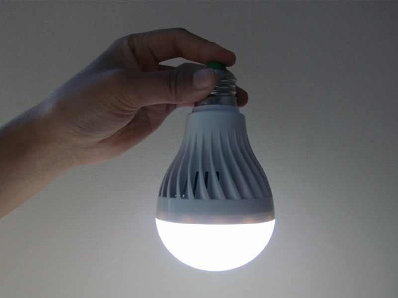 Bóng đèn LED sạc 9w E27-220v