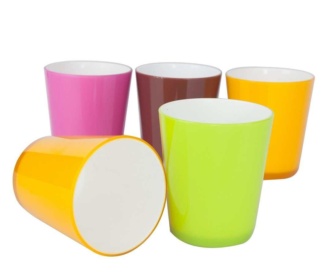 Cốc nhựa sắc màu 340ml Biozone BC-34