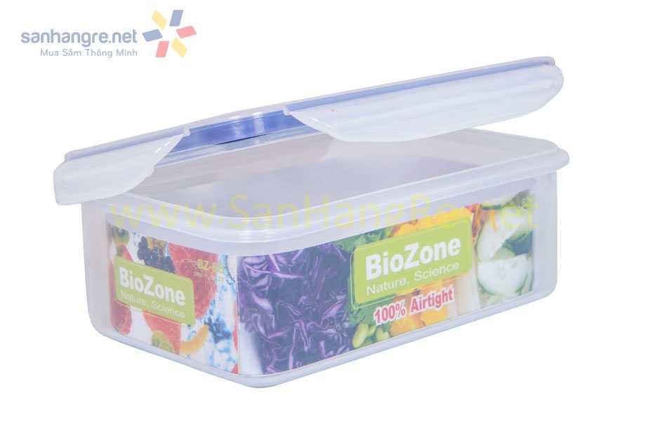 Hộp nhựa đựng thực phẩm BioZone 680ml