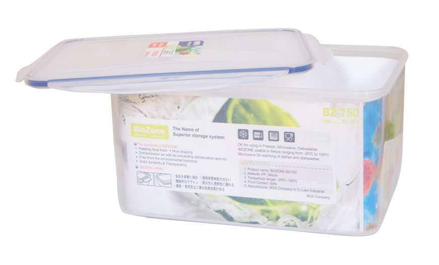 Hộp nhựa đựng thực phẩm BioZone 6500ml