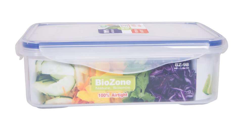 Bộ 6 hộp nhựa đựng thực phẩm BioZone BZ-6