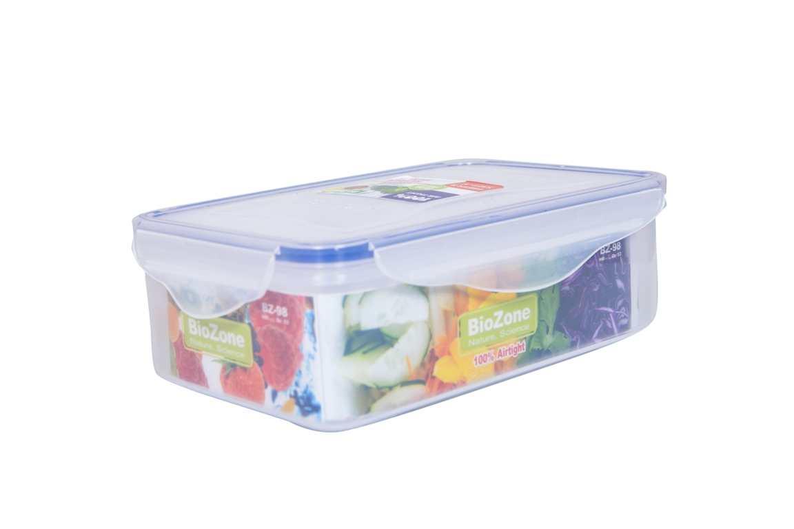 Bộ 2 hộp nhựa đựng thực phẩm BioZone BZ-2