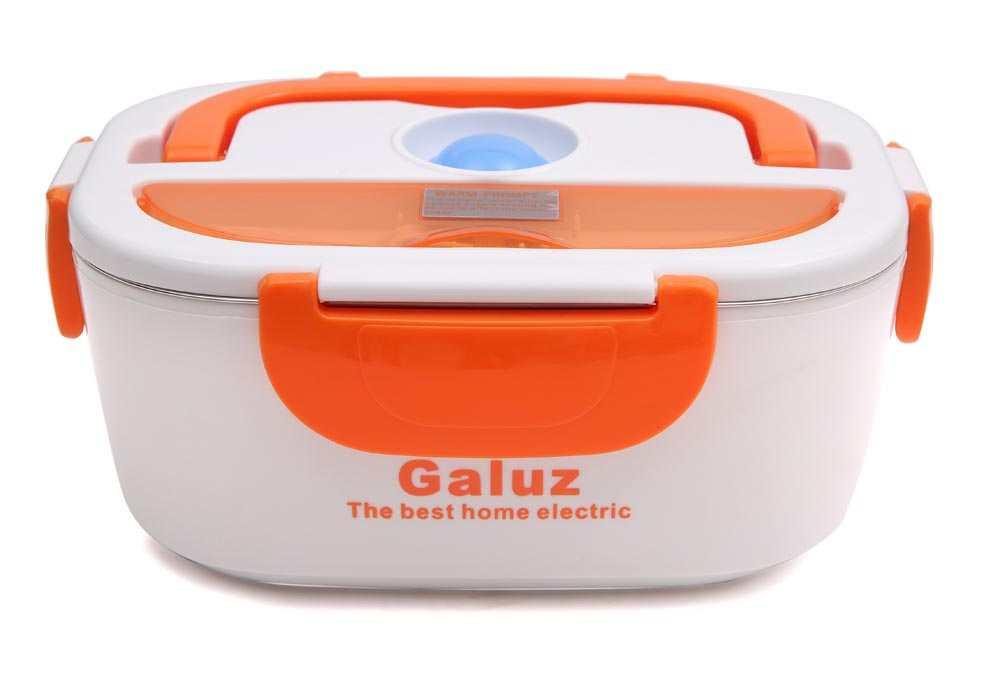 Hộp cơm hâm nóng tự động ruột Inox Galuz kèm túi