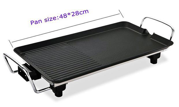 Vỉ nướng điện Electric Barbecue Plate 1500W
