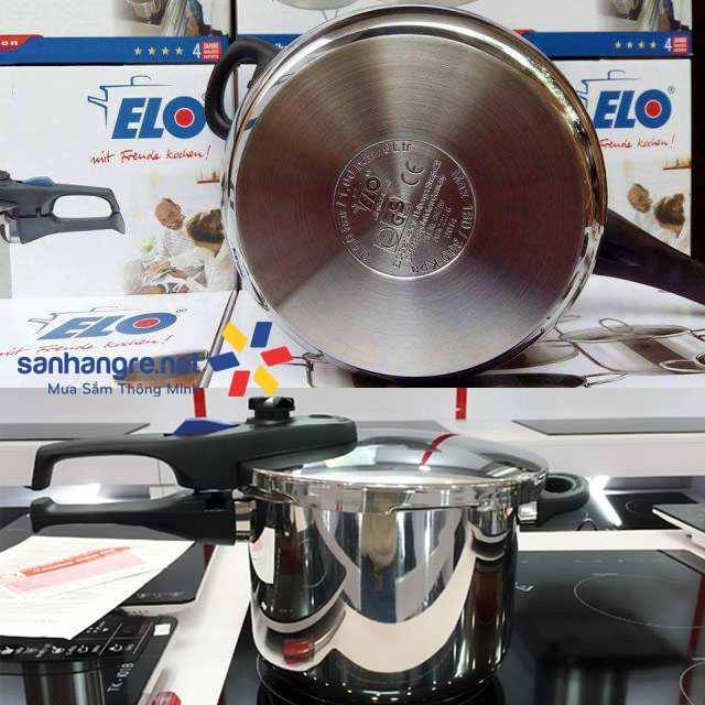Nồi áp suất Inox 304 ELO Praktika Plus XL 6L