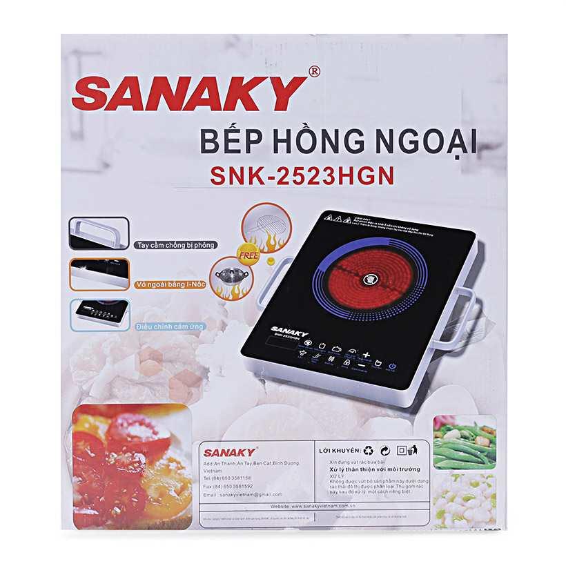 Bếp hồng ngoại Sanaky SNK-2523HGN 2000W